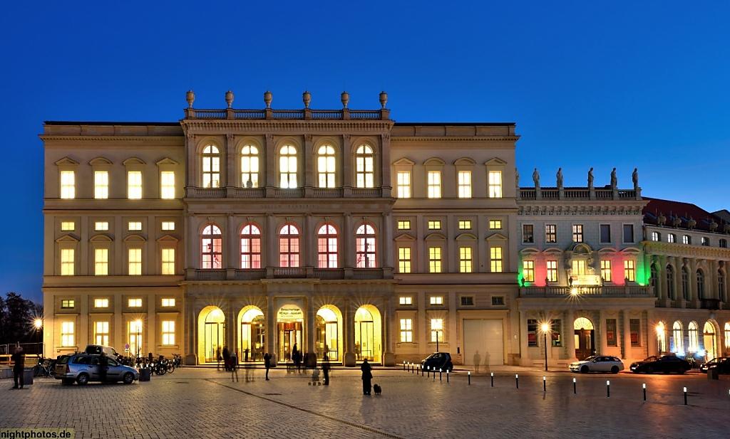 Potsdam Alter Markt Museum Barberini erbaut 2016 als ekosnstruktion historischer Vorlage