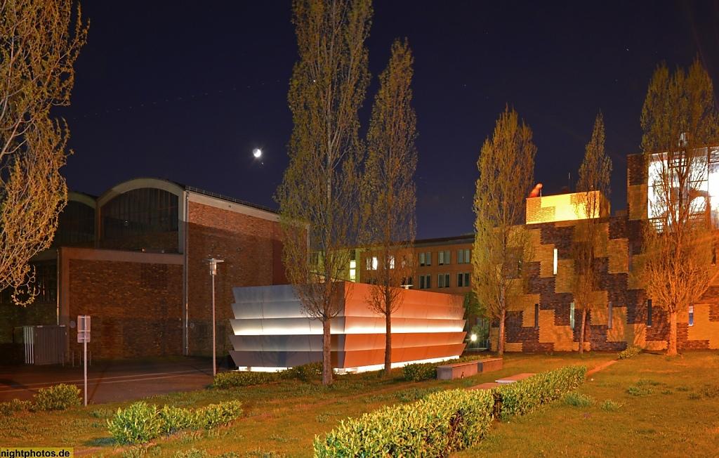 Berlin Johannisthal Gefahrstofflager auf dem Campus der Humboldt-Universität