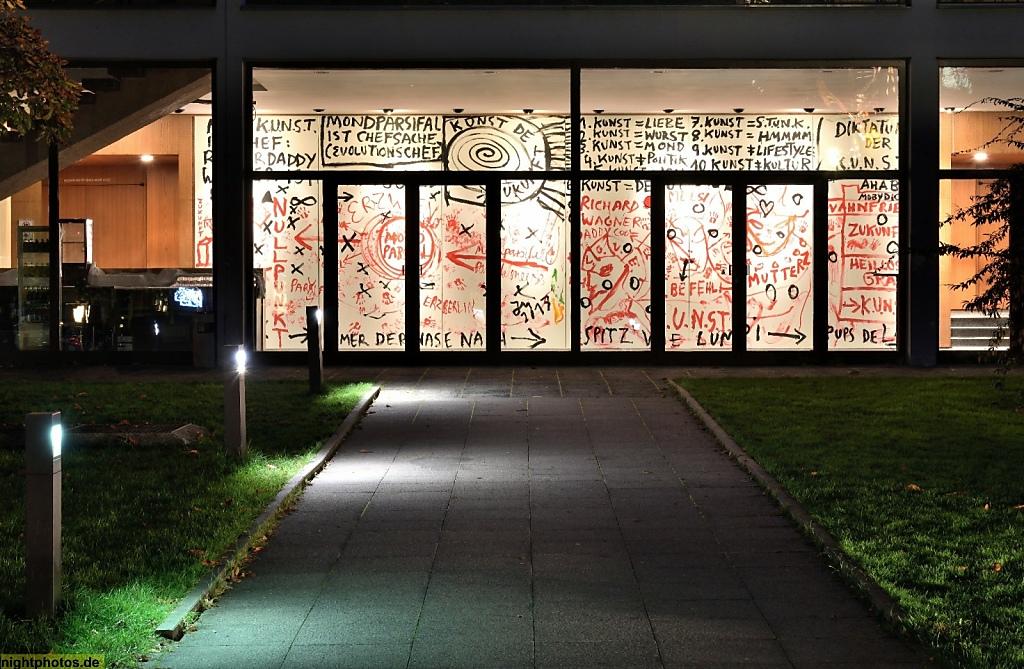 Berlin Wilmersdorf Haus Der Berliner Festspiele Eröffnet 1963