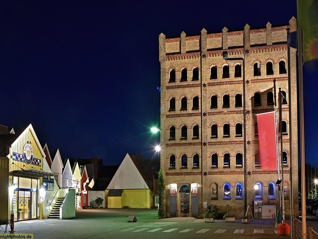 Eckernförde Siemsen-Speicher erbaut 1870