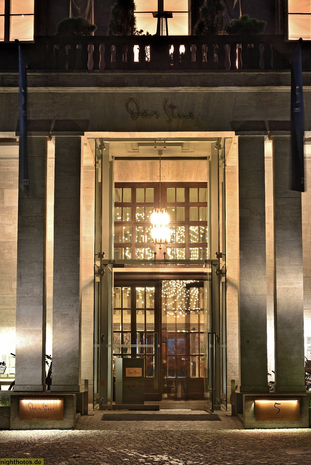 Berlin Tiergarten Hotel Das Stue Portal Nightphotosde